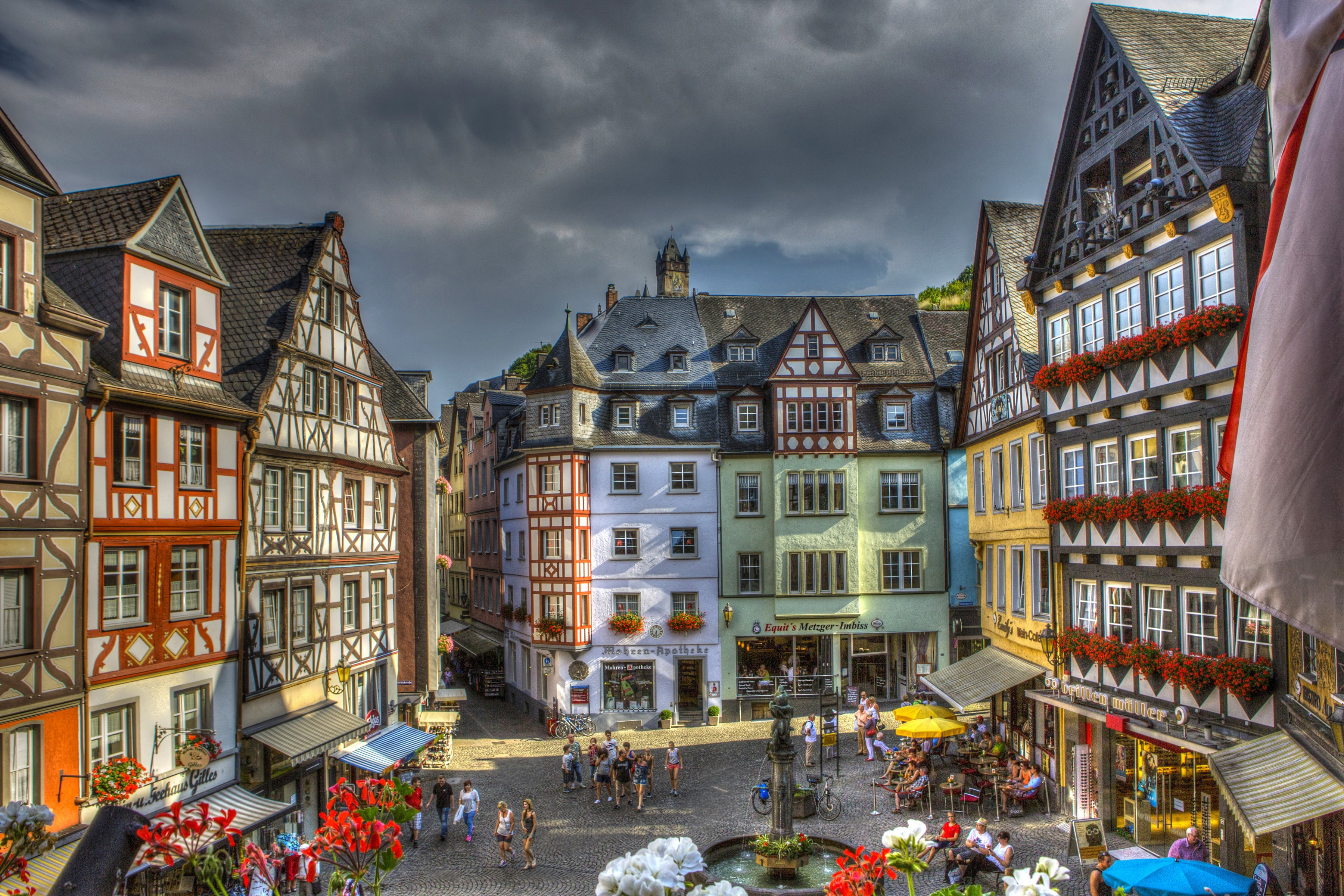 Cochem Germany  city pictures gallery : Germany House Cochem HDR Cities wallpaper   3600x2400   437574 ...