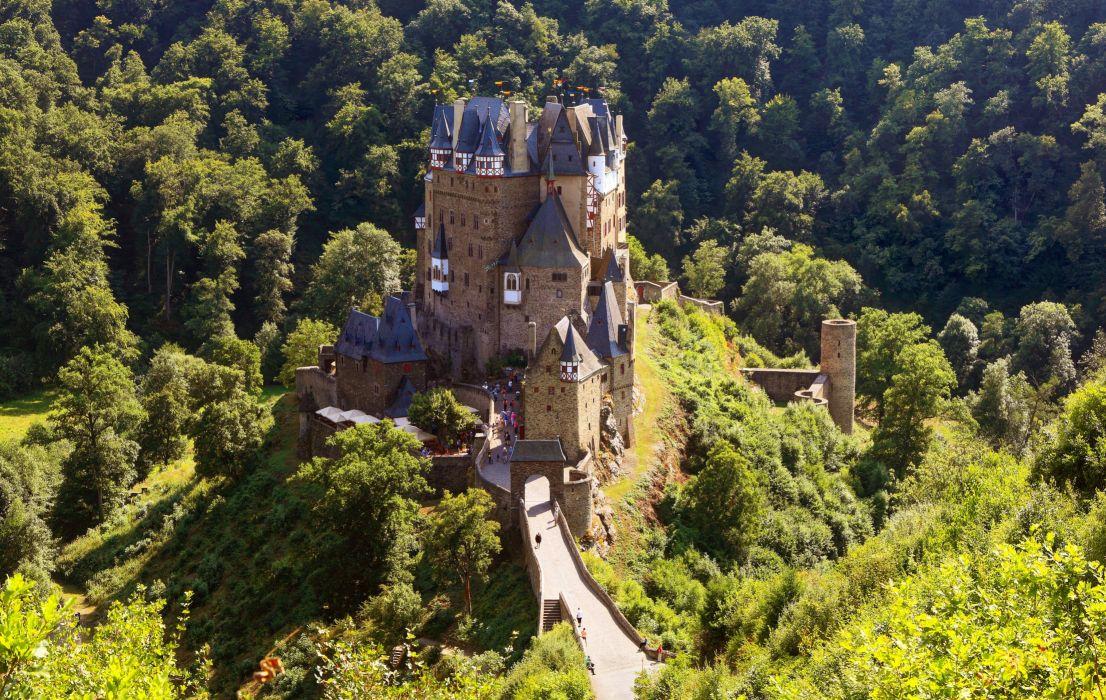 Germany Castle Eltz wallpaper