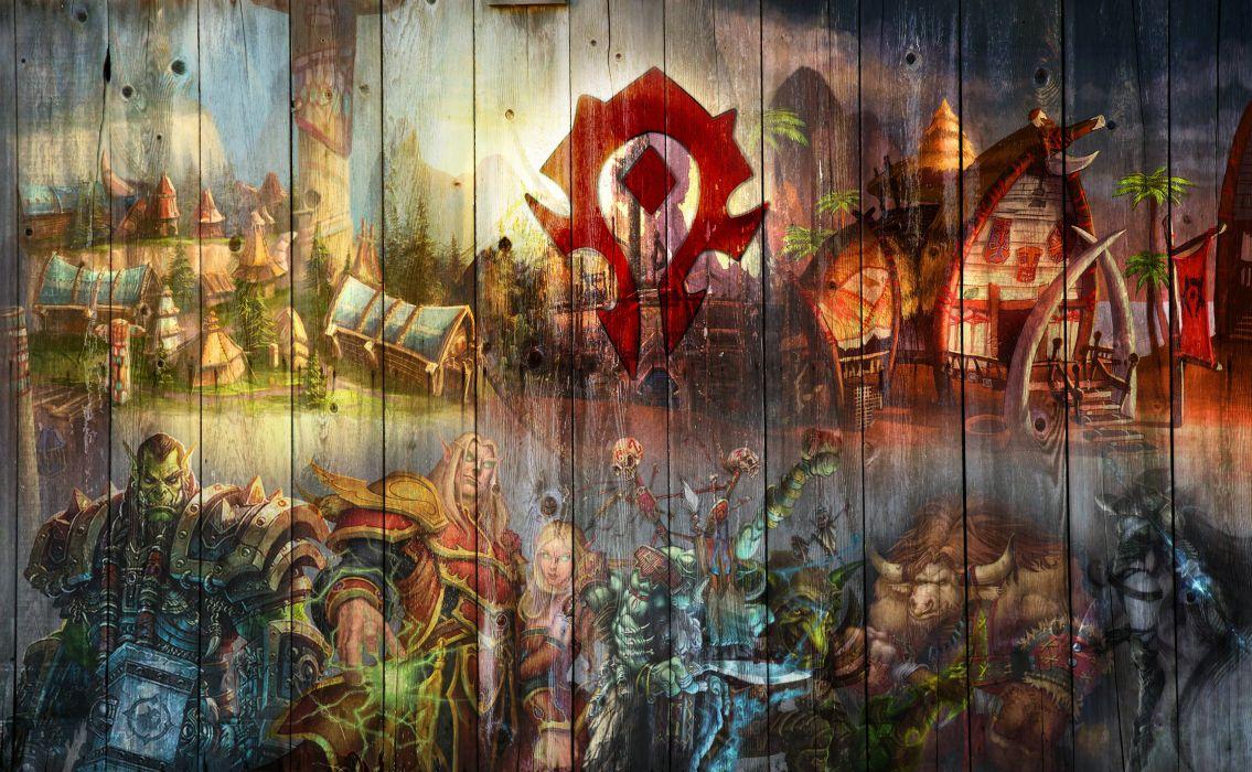 Warcraft Horde Wallpaper 3504x2161 437593 Wallpaperup
