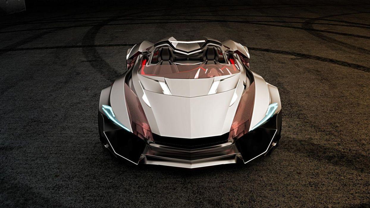 Vapour gt concept roadster wallpaper