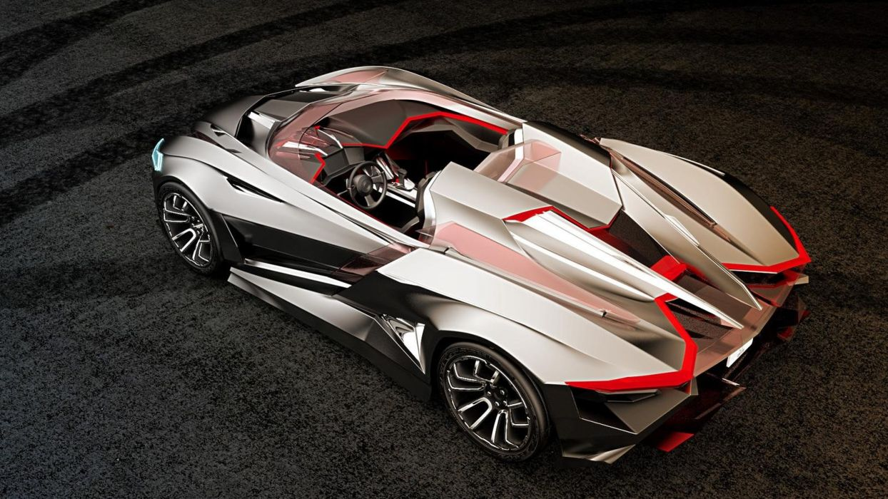 Vapour gt concept roadster wallpaper