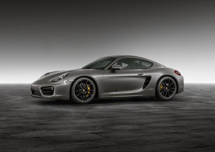 Porsche Exclusive Agate Grey Cayman S coupe cars wallpaper