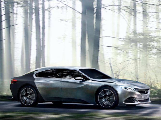 Peugeot Exalt Paris Concept 2014 wallpaper