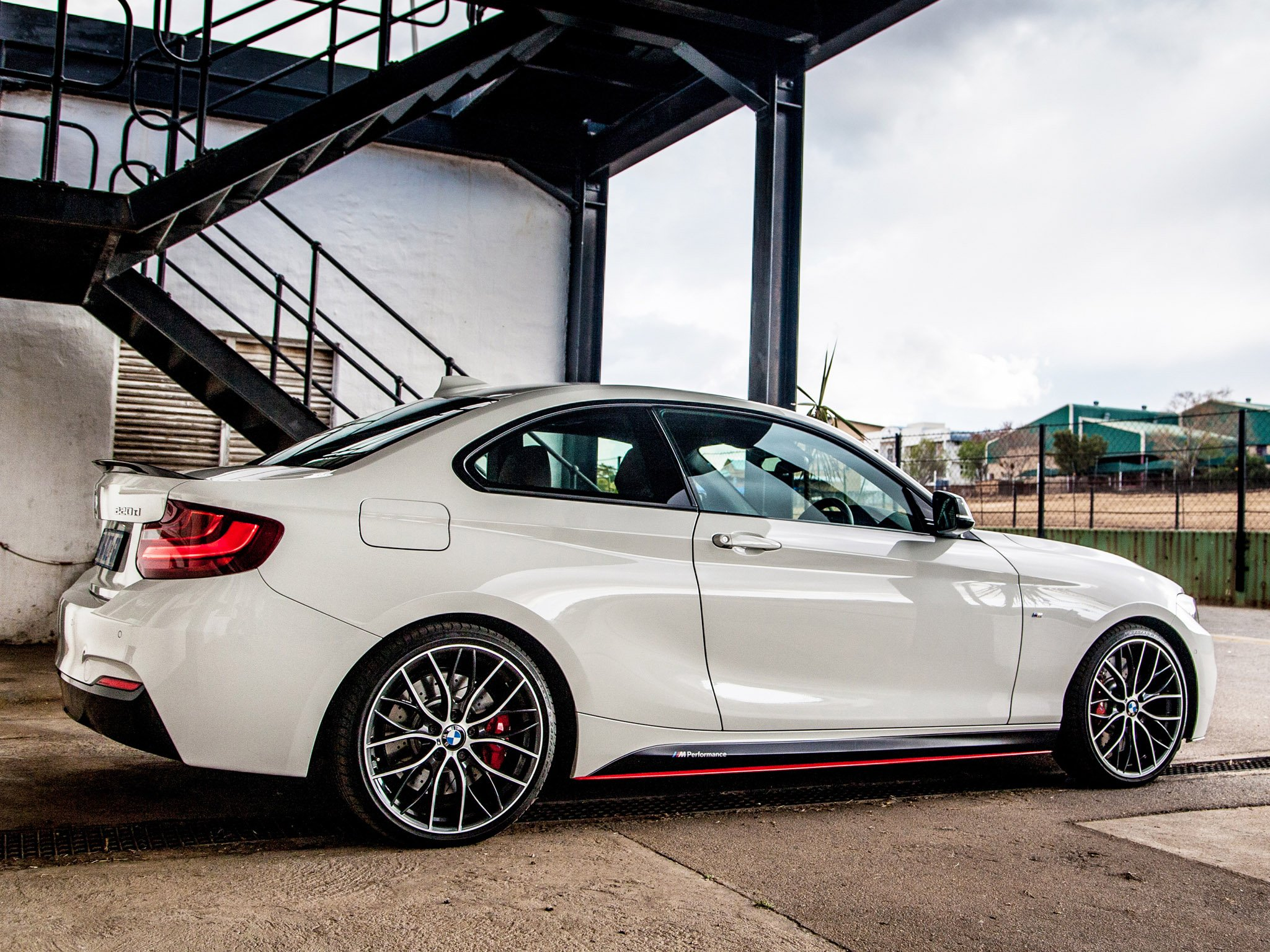 BMW 2-Series M220d Coupe M-Performance Accessories F22 2014 wallpaper ...