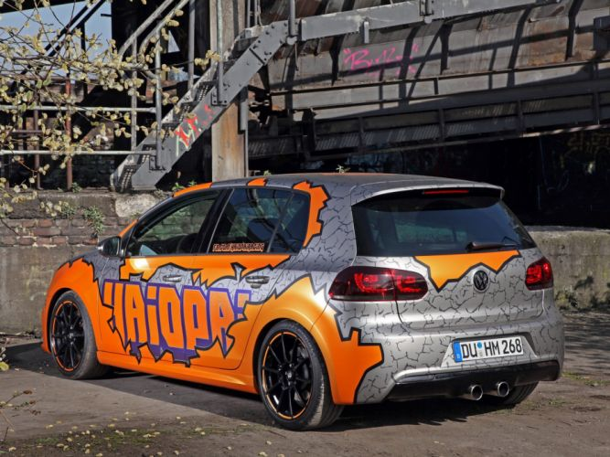 Cam Shaft Volkswagen Golf R Haiopai Racing 2014 tuning wrapping wallpaper