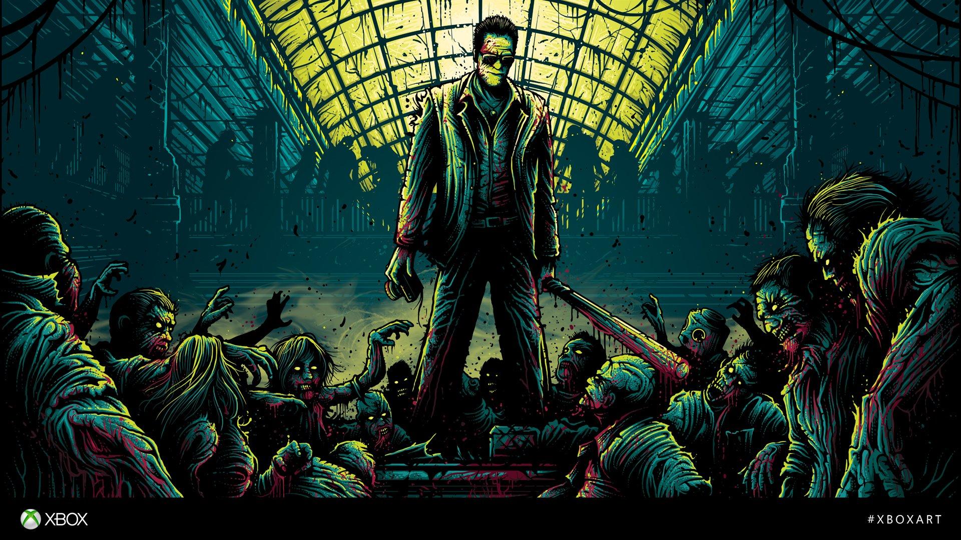Danmumford zombie badass alone wallpaper 1920x1080 - Badass backgrounds ...