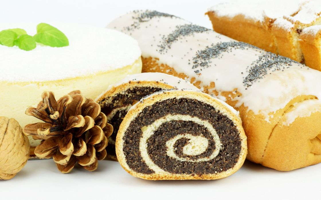 Cake pine cone sweet wallpaper
