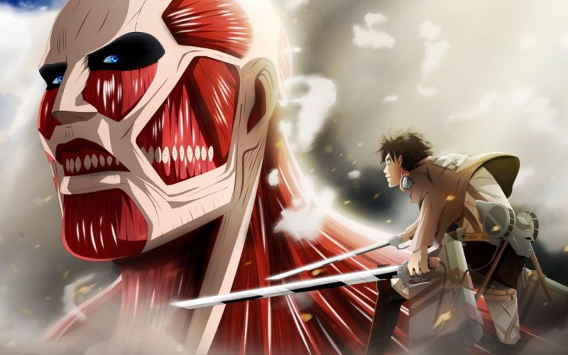 anime blades warrior muiscle fight wallpaper