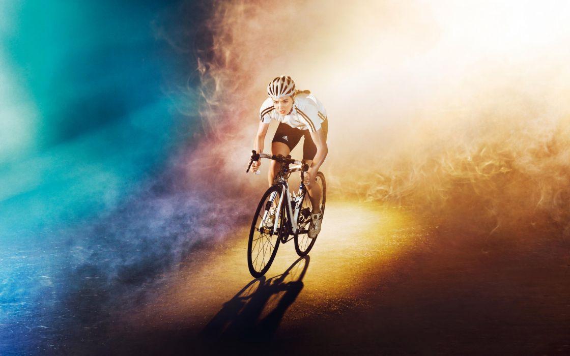 cycle racer smoke wallpaper