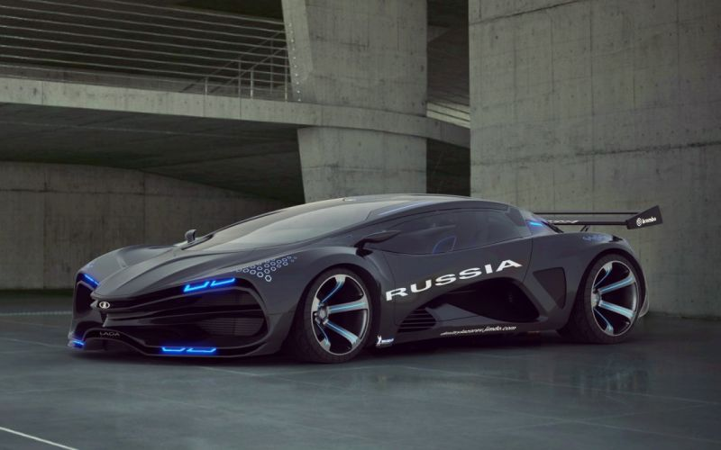 russia marussia car concept hypercar wallpaper