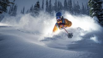 Ski Skiing Snow Winter Man Sport Wallpaper