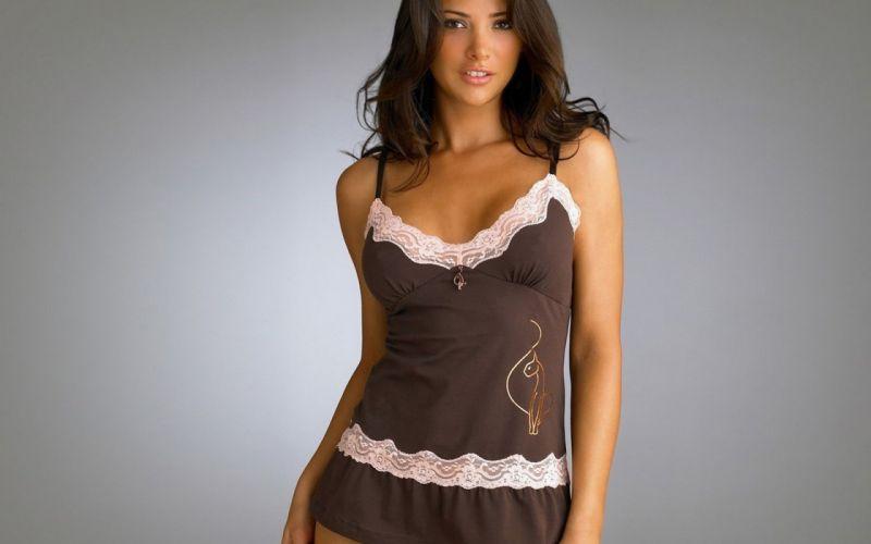 brunette woman beauty model wallpaper