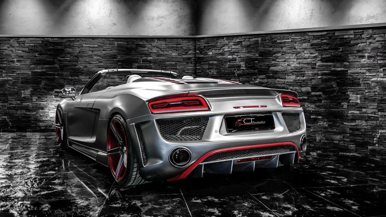 Audi R8 V8 Spyder tuning wallpaper