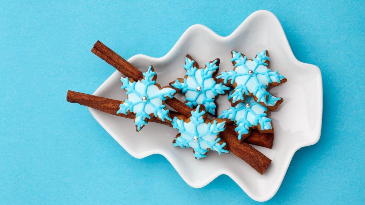 food sweet cake blue cokolate wallpaper
