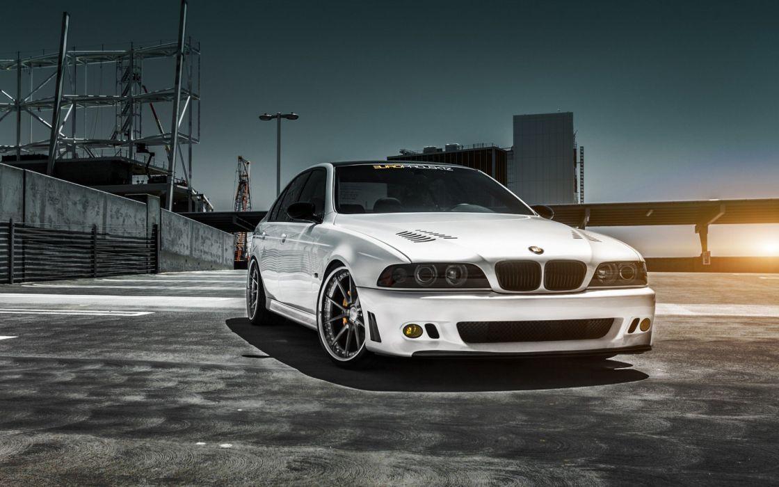 bmw car white tuning wallpaper