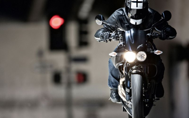 motorbike racer bike street wallpaper