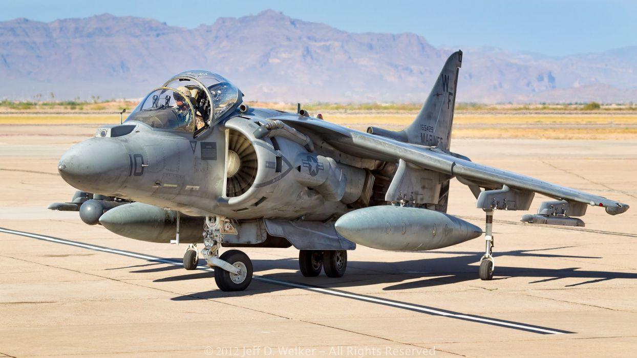 Fighter harrier jet Military McDonnell Douglas aircrafts wallpaper