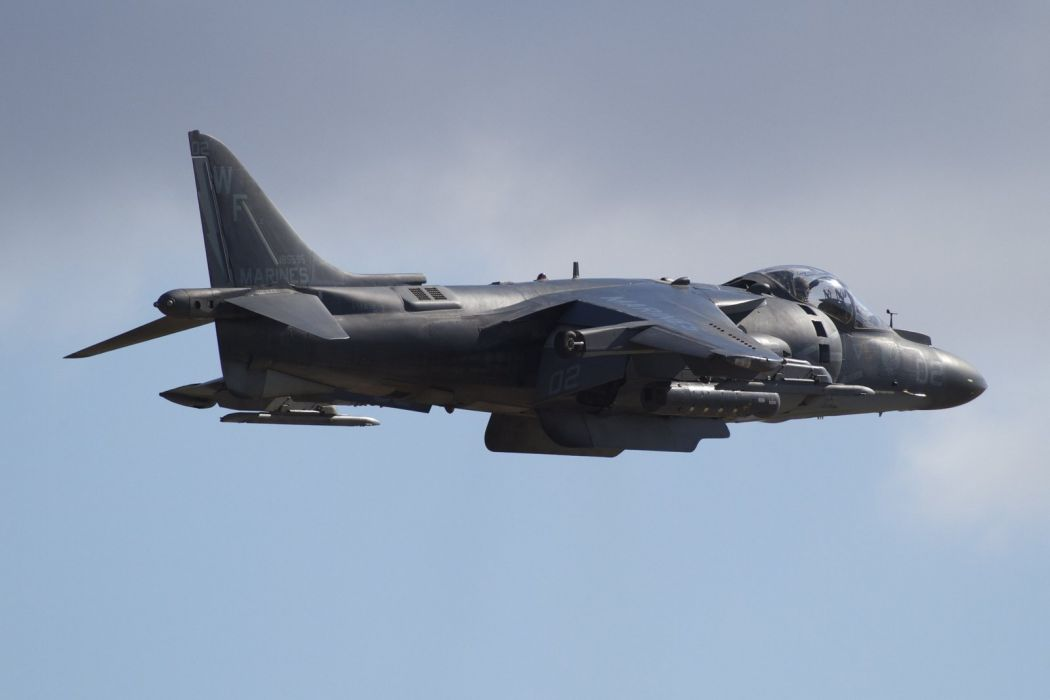 Fighter harrier jet Military McDonnell Douglas aircrafts wallpaper