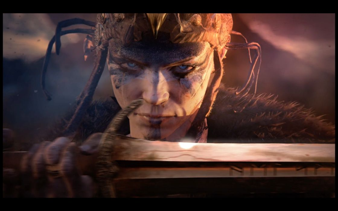 HELL BLADE action manga fighting hellblade wallpaper