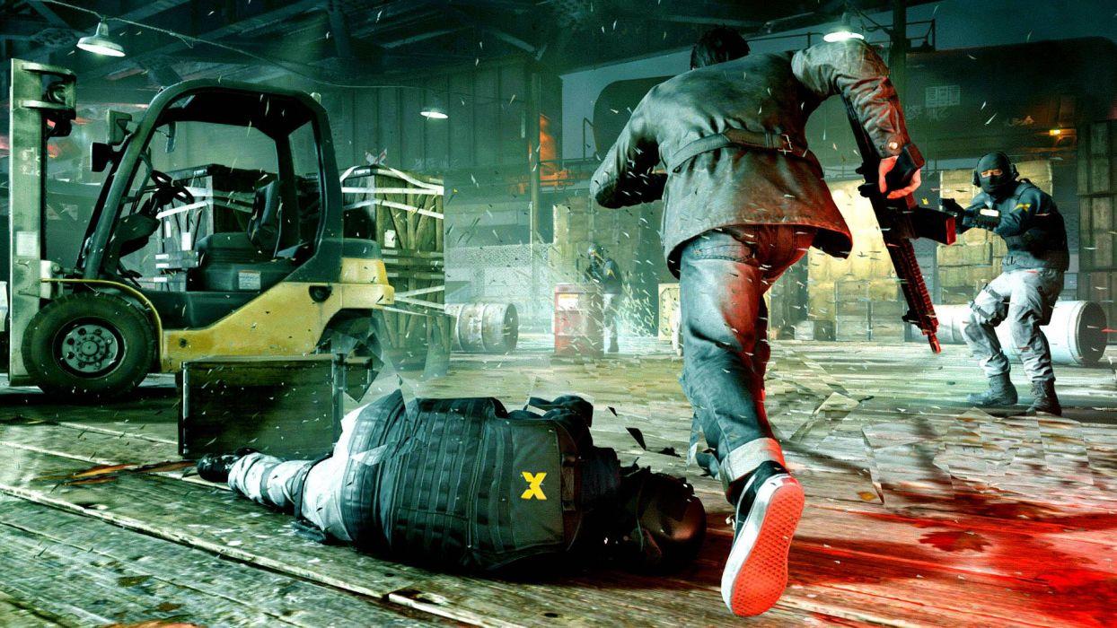 QUANTUM BREAK action shooter wallpaper