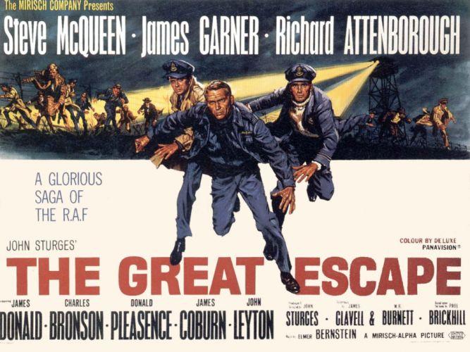 THE GREAT ESCAPE adventure drama history war wallpaper