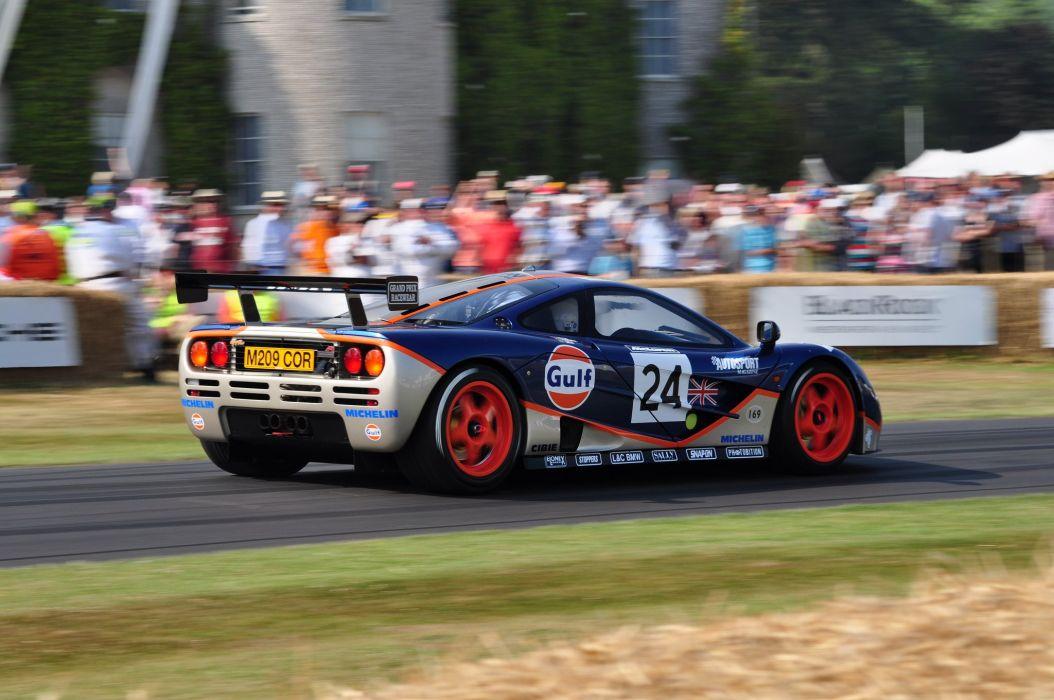 1995 f 1 GTR McLaren Race Racing Supercar wallpaper