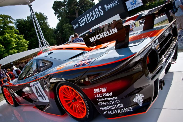 1997 f 1 GTR longtail McLaren Race Racing wallpaper