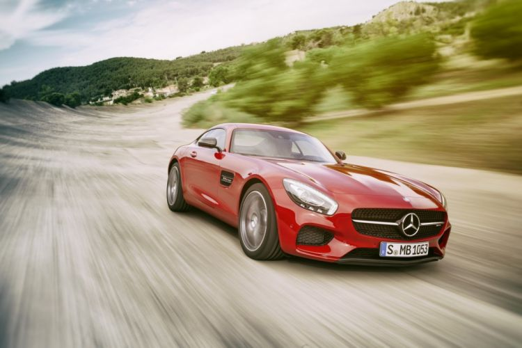 Mercedes AMG GT new supercars coupe 2015 wallpaper