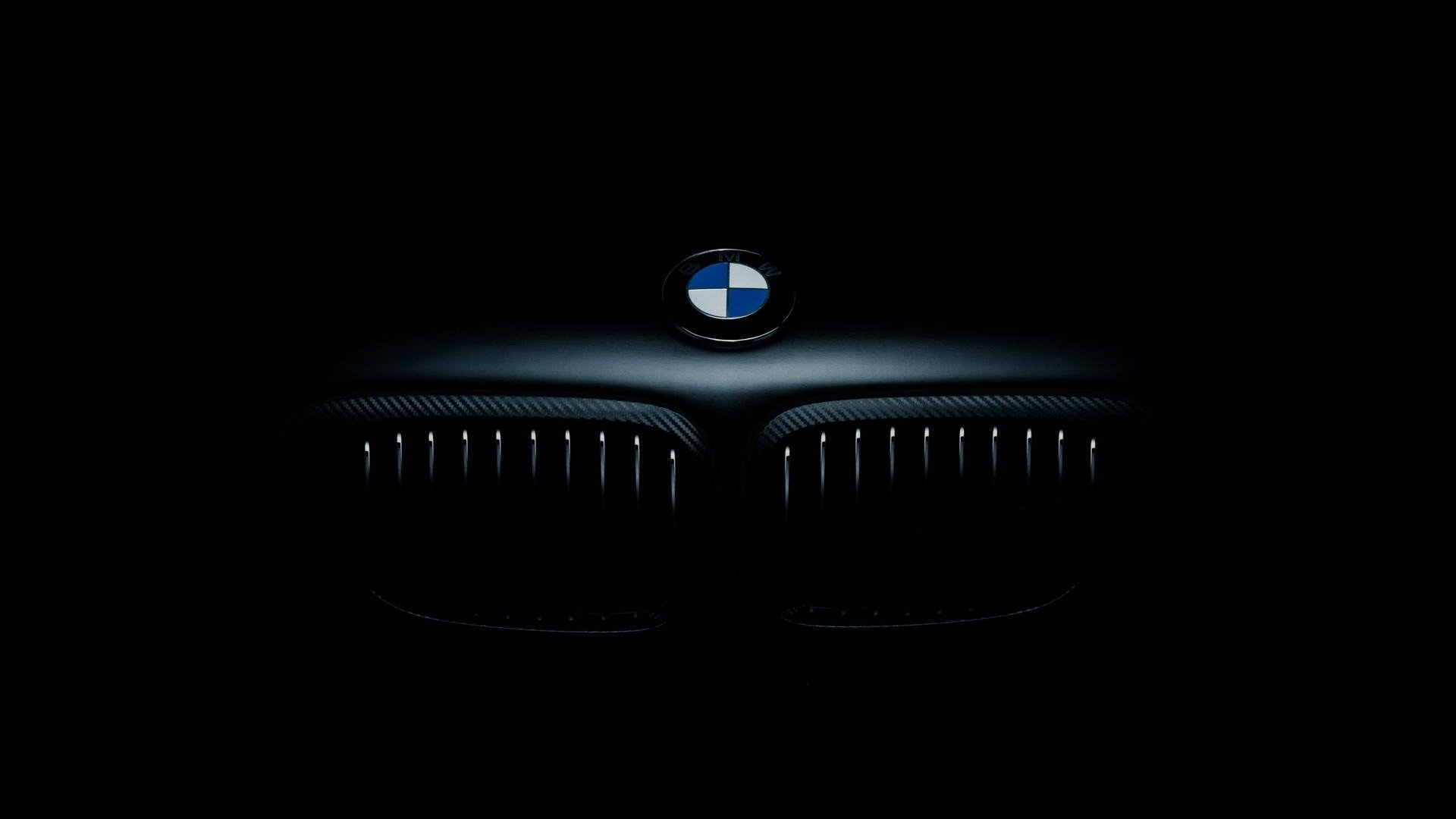 Bmw Logo Car Dark Wallpaper 1920x1080 439468 Wallpaperup