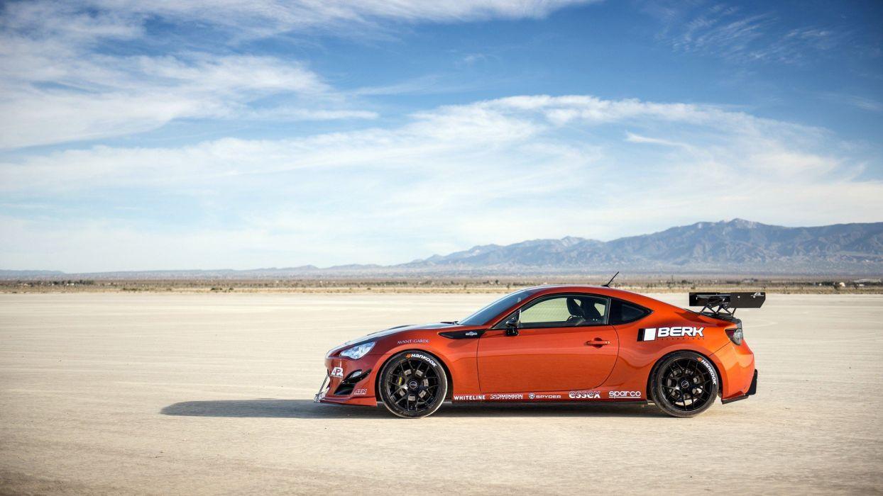 Infinity car tuning desert wallpaper