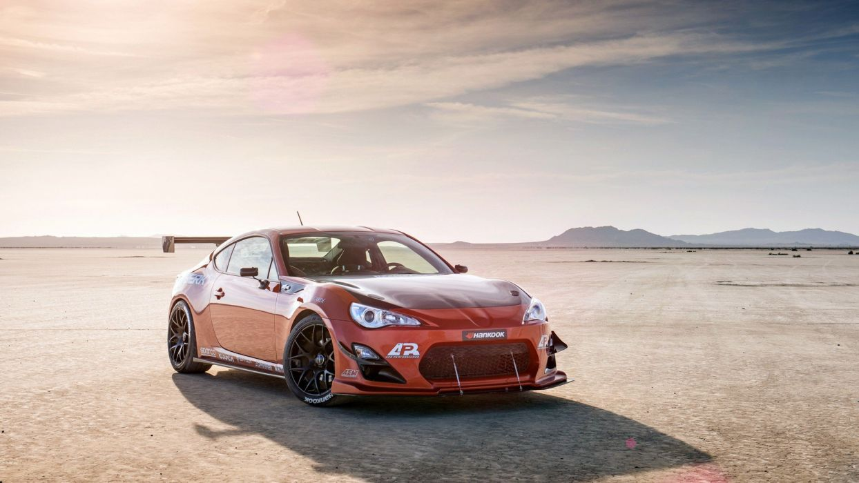 Infinity car tuning desert wallpaper