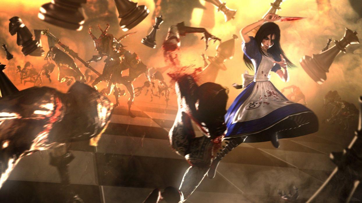 Alice madness returns game wallpaper
