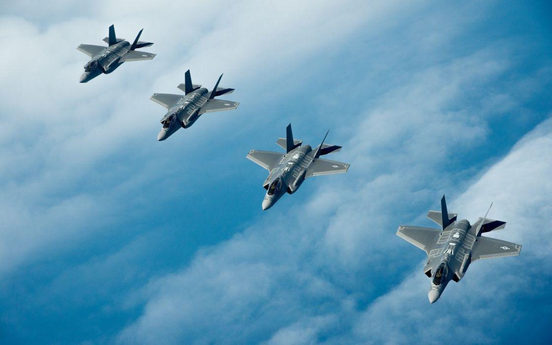 planes sky military jet wallpaper