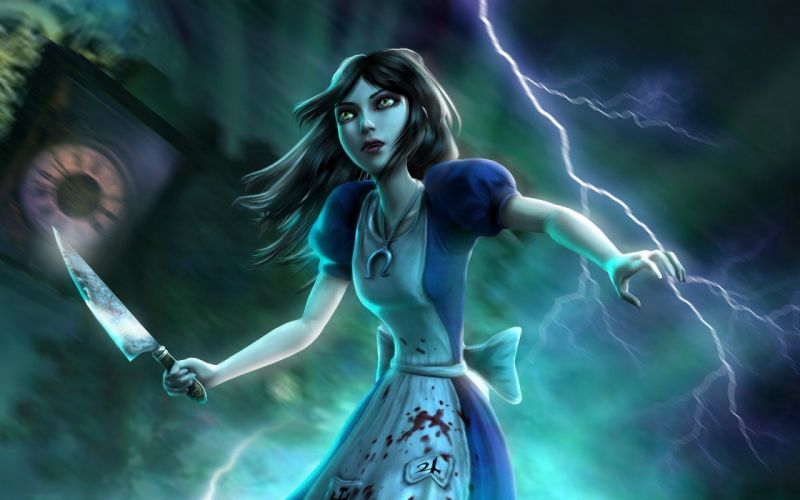 alice madness returns game video wallpaper