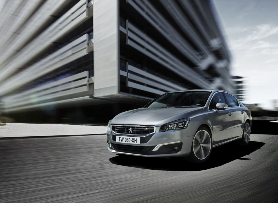 2014 Peugeot Facelifted 508 cars french wallpaper