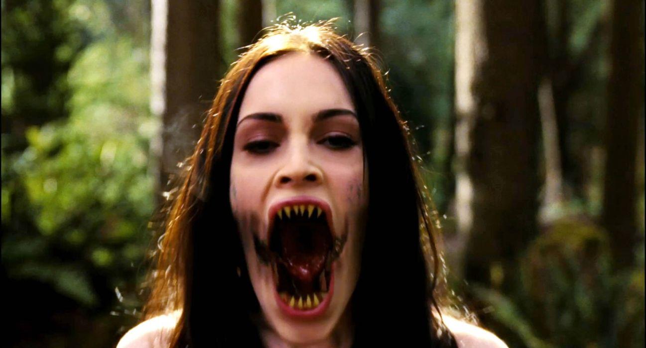 JENNIFERS BODY comedy horror megan fox dark demon vampire wallpaper