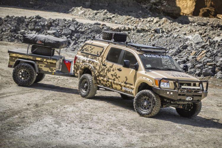 Nissan Titan Truck concept suv 2014 wallpaper