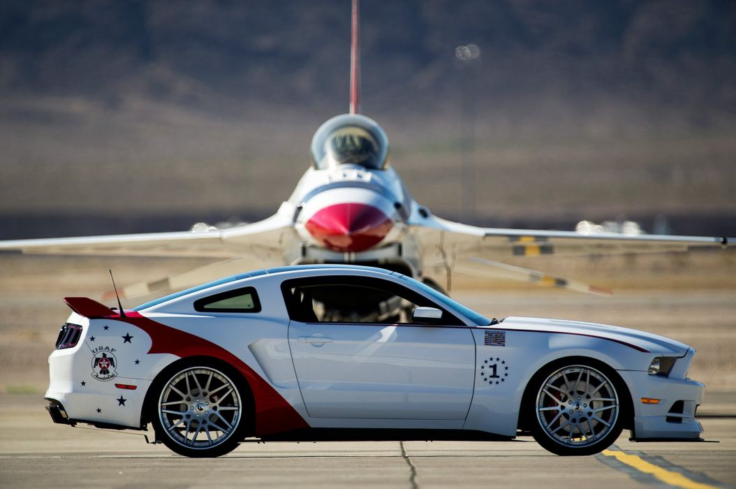 FORD mustang thunderbirds edition 2014 cars wallpaper