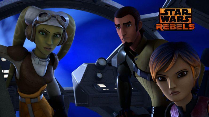 Star Wars Rebels Cockpit wallpaper