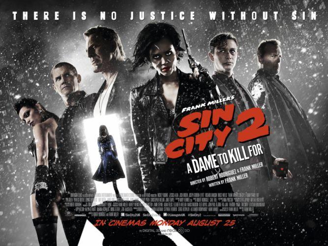 SIN CITY action crime thriller dame kill for wallpaper