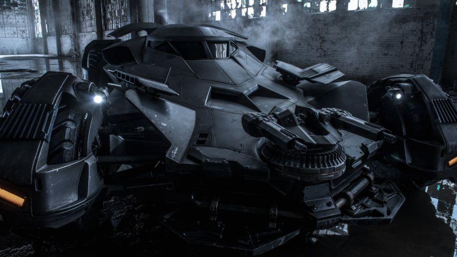 New Batmobile Batman V Superman wallpaper