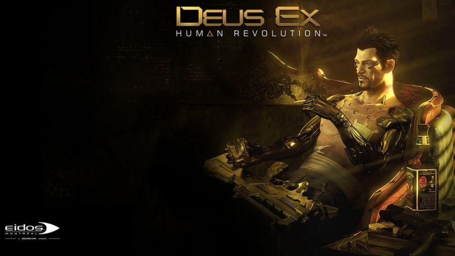 DeusEx HR #1 wallpaper