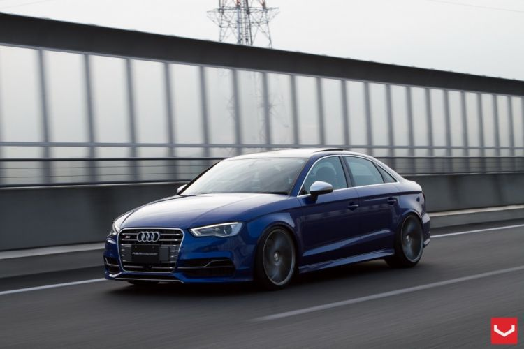 AUDI S3 Sedan Vossen Wheels tuning wallpaper