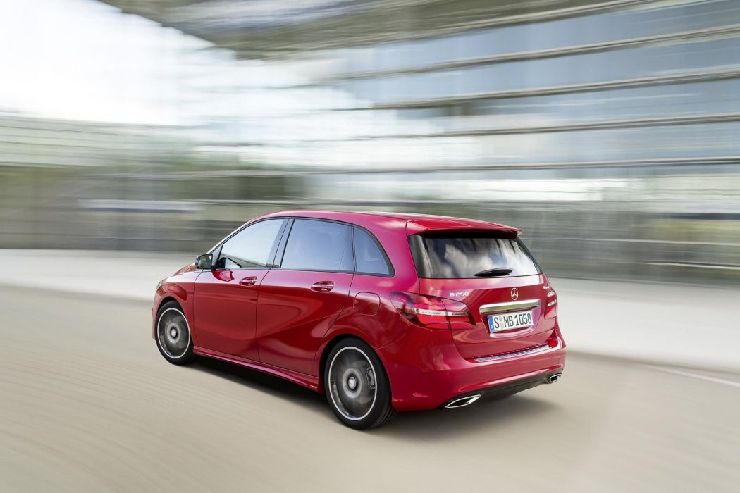 Mercedes Benz B-Class facelift 2015 cars wallpaper
