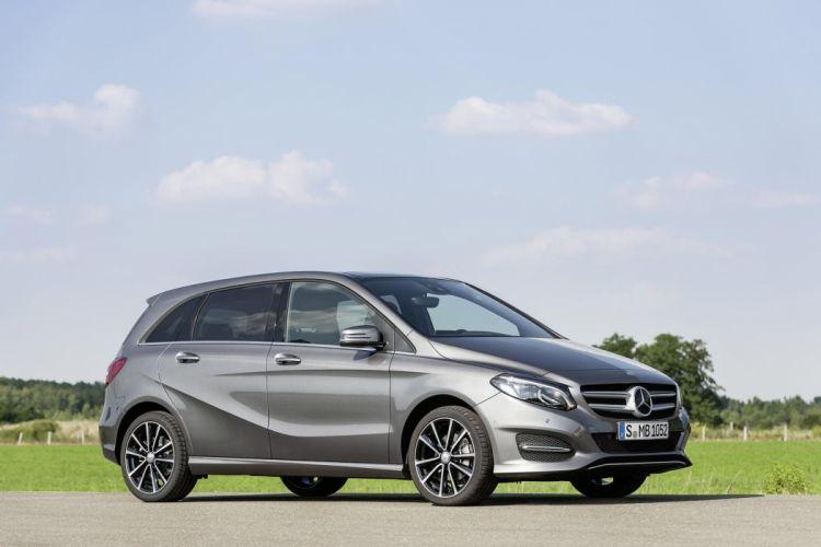 Mercedes Benz B-Class facelift 2015 cars wallpaper