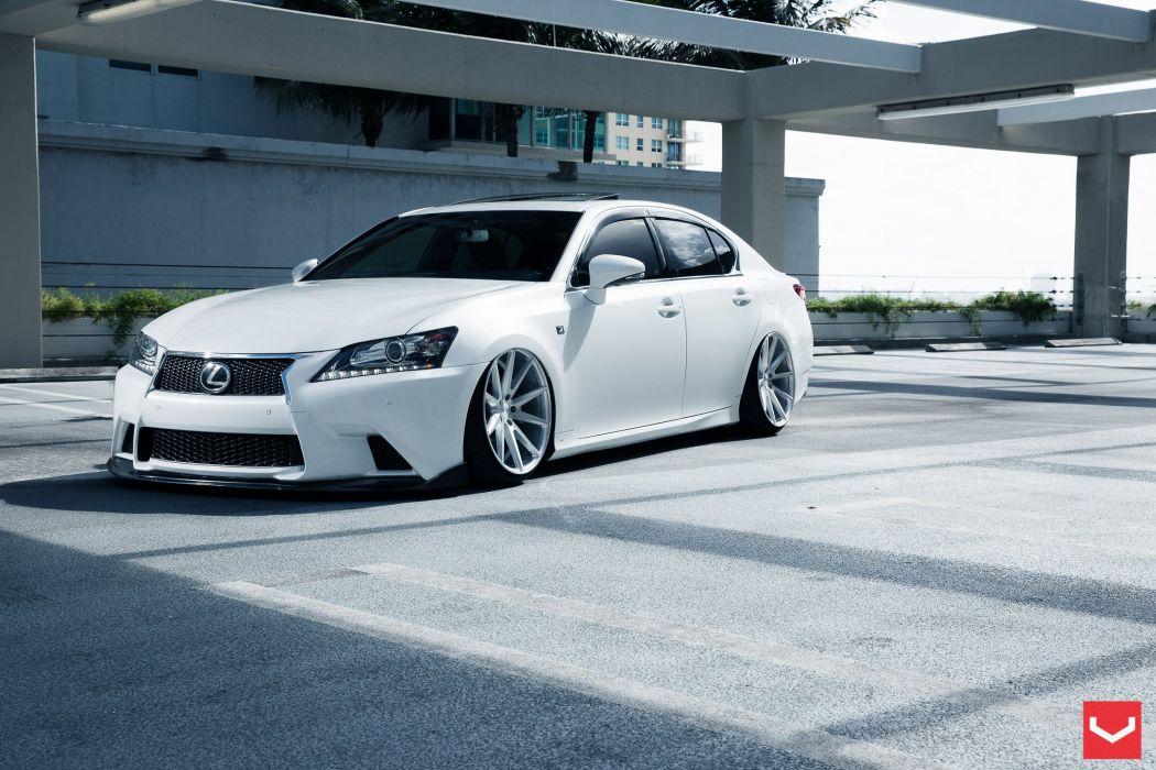 Lexus GS vossen wheels tuning wallpaper