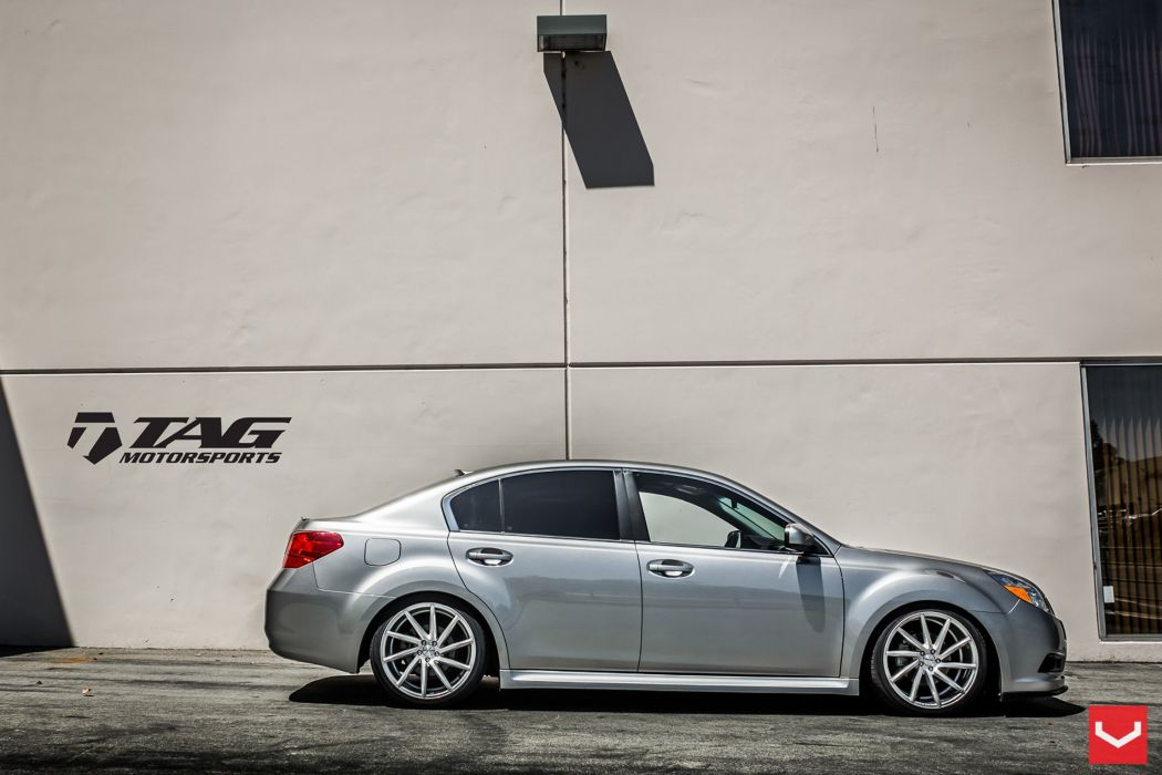 vossen wheels tuning Subaru Legacy wallpaper