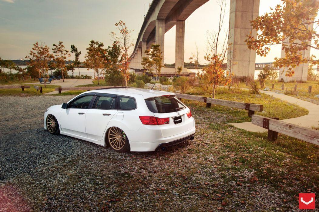Acura t s x Tuning vossen wheels wallpaper