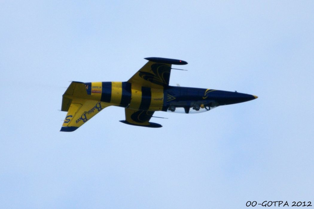 Aero L-39 Albatros Baltic Bees Jet Team acrobatic wallpaper