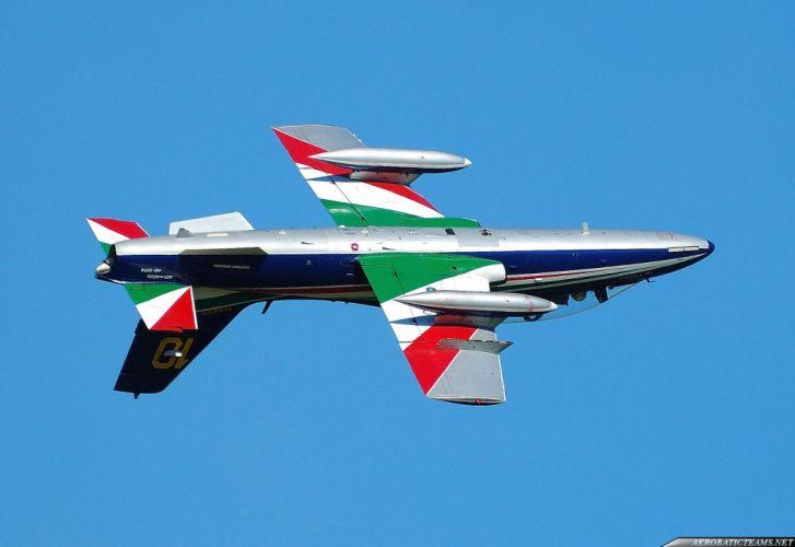 Aermacchi MB-339 PAN Freece Tricolori Jet Team acrobatic italia aircrafts wallpaper